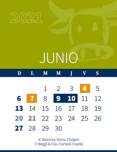 calendario web individual 400x520